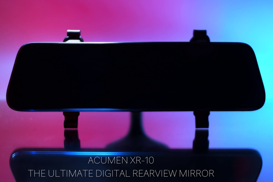 Acumen XR10 Digital Rearview Mirror Dashcam