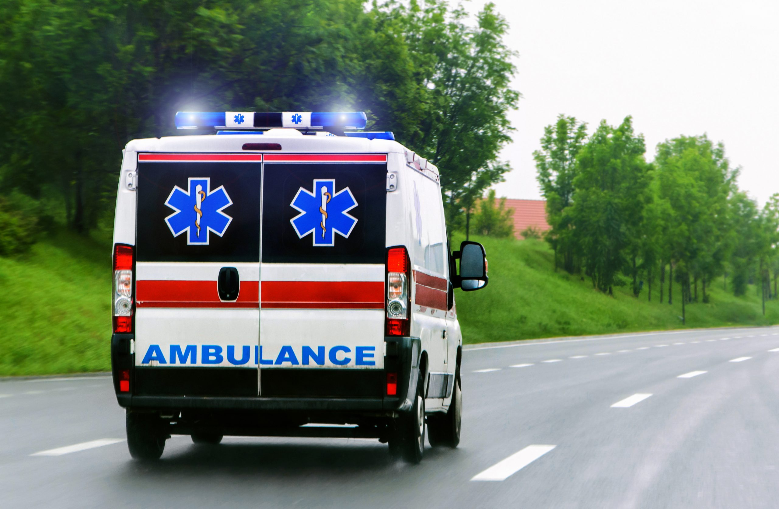 Safety solutions for emergency vehicles