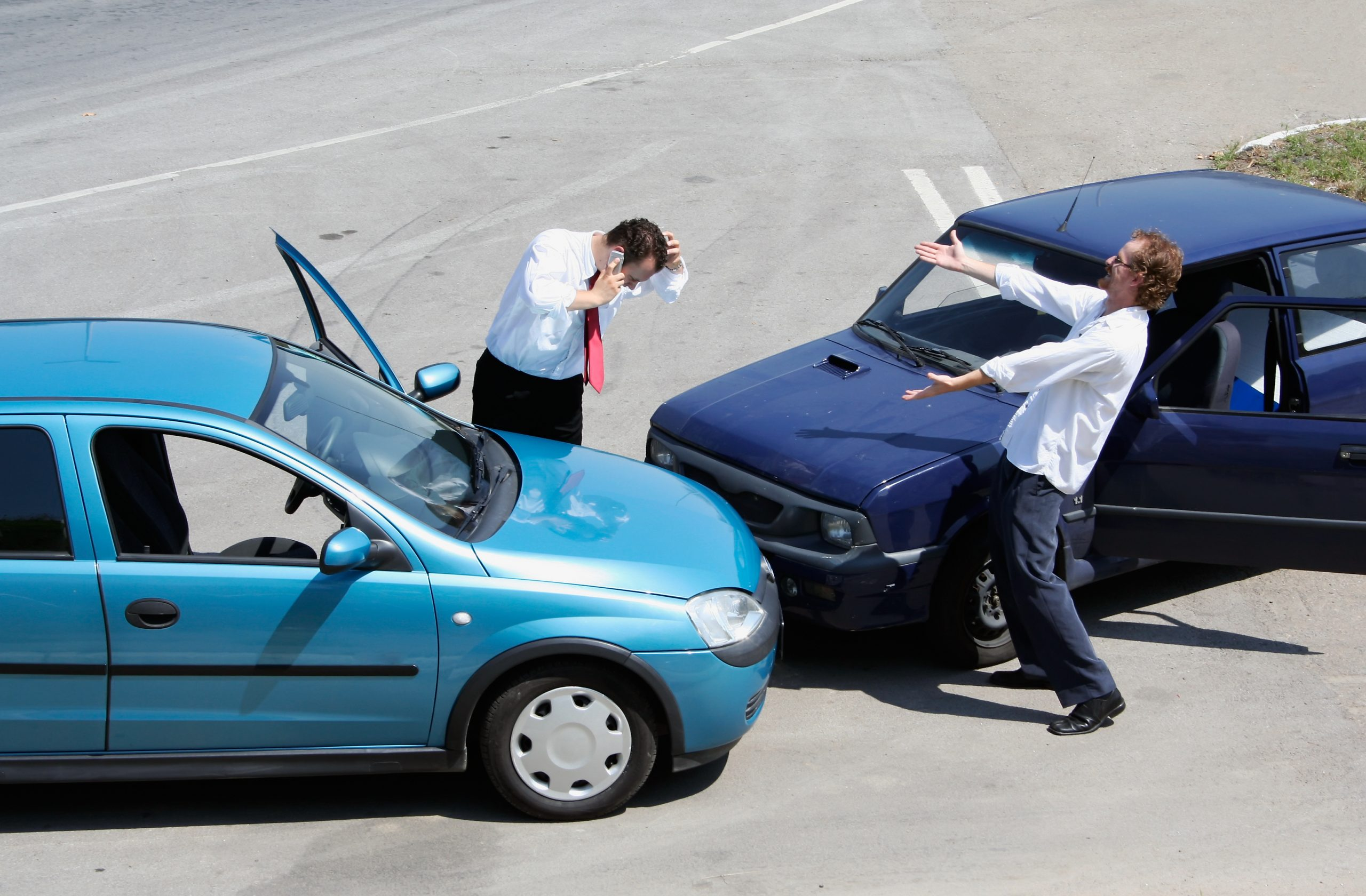 What should you do if you witness a car accident?
