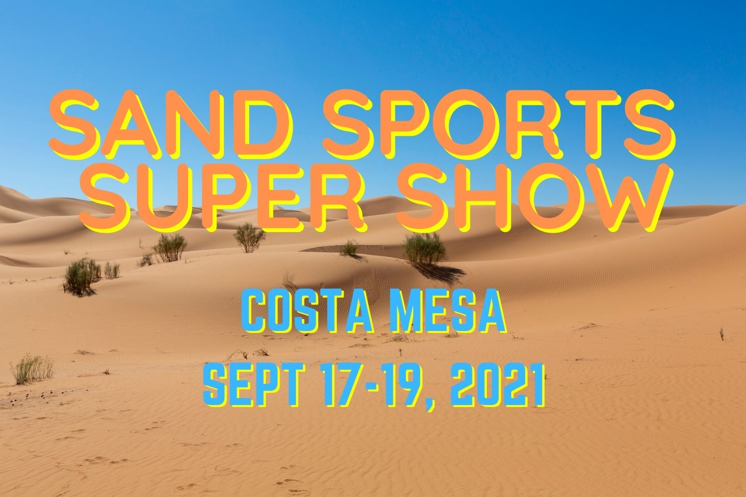 Acumen is exhibiting at Sand Sports Super Show 2021 in Costa Mesa